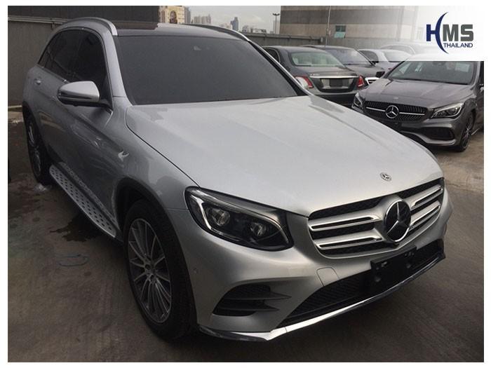 20180814 Mercedes Benz GLC250d_W253_front,ติดกล้องติดรถยนต์บนรถ Mercedes Benz GLC250d W253 โดย HMS Thailand