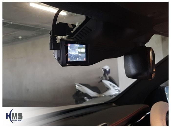 20180904 Mercedes Benz GLC43_W253_back_DVR_Mio_MiVue_786_Wifi,กล้องติดรถยนต์ Mio MiVue 786 Wifi ติดตั้งหน้ารถ Mercedes Benz GLC43 W253