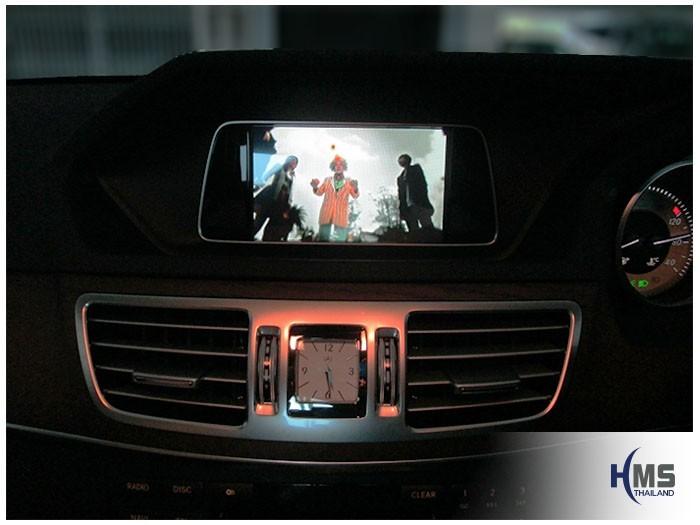 20150302 Mercedes Benz E200 W212_Navigation box_TC5000_Movie