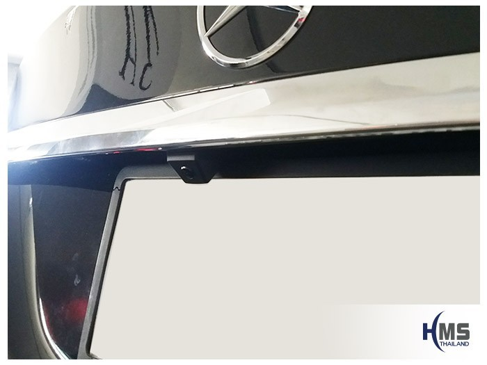 20180628 Mercedes Benz C180 W205_Rear camera,Rear camera,จอถอยหลัง,กล้องมองหลัง,กล้องถอยหลัง,หมุนตามพวงมาลัย,PAS,Park assistant system
