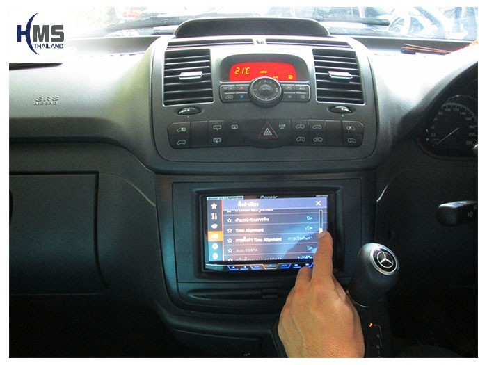 20150401 Mercedes Benz Vito C639_DVD Player_Pioneer_AVH_X5750WBT