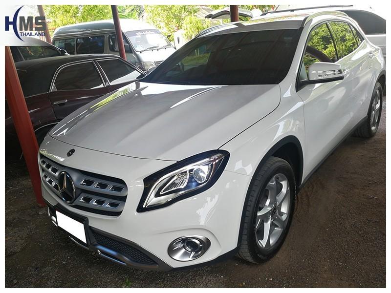 20181016 Mercedes Benz GLA200_W156_back,ติดตั้งกล้องติดรถยนต์ บน Mercedes Benz GLA200 W156,Benz, Mercedes ,เบนซ์ ,เมอร์เซเดส, ซาลูน