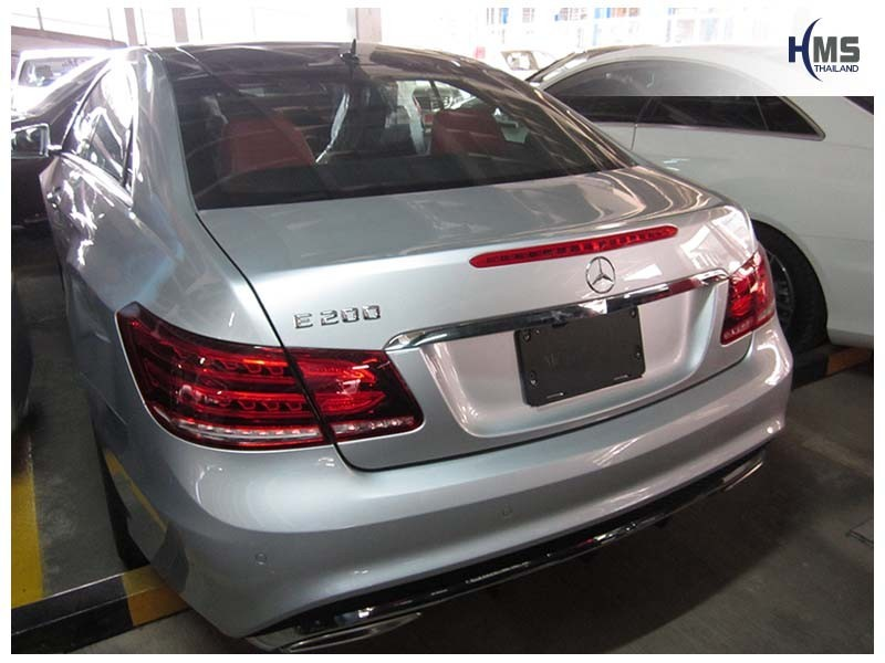 20150611 Mercedes Benz E200 Coupe W207_back