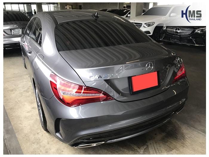20180830 Mercedes Benz CLA250_C117_back,Benz, Mercedes ,เบนซ์ ,เมอร์เซเดส, ซาลูน,ราคาเบนซ์,facelift ,Brabus ,AMG ,Bluetec ,Hybrid,ไฮบริด