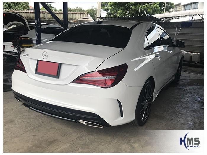 20180831 Mercedes Benz CLA250_C117_back,ภาพท้ายรถ Mercedes Benz CLA250 C117