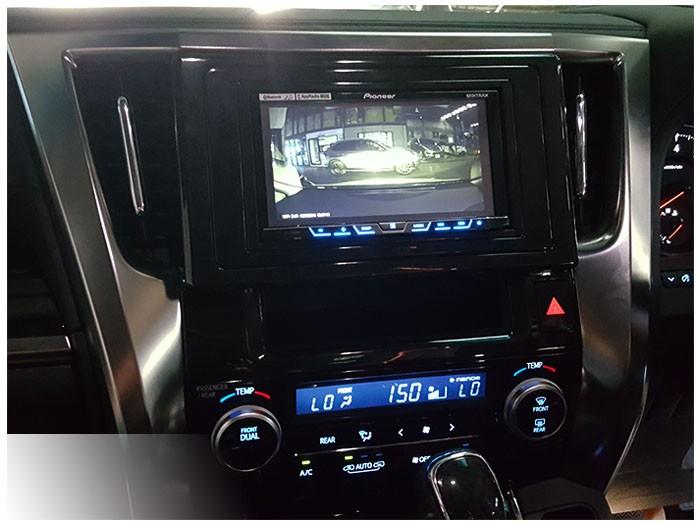20170620 Toyota Alphard_DVD player_Pioneer_AVH5850BT_DVR_inCarBite_ICB_Unive