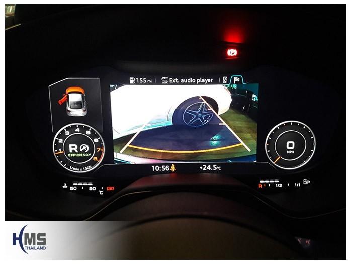 20180524 Audi TT_rear camera_view