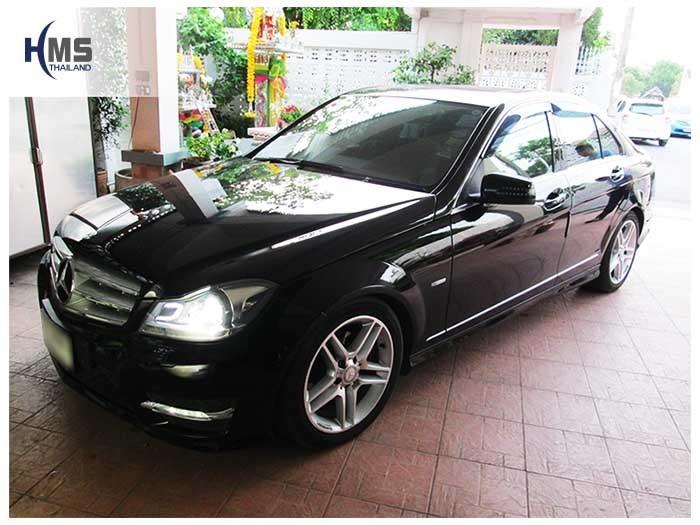 20150407 Mercedes Benz C180_W204_front