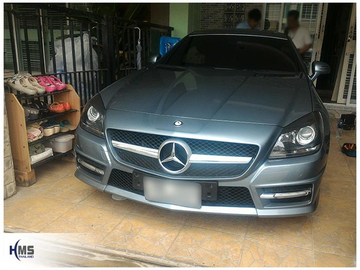 20170821 Mercedes Benz SLK200_W172_front