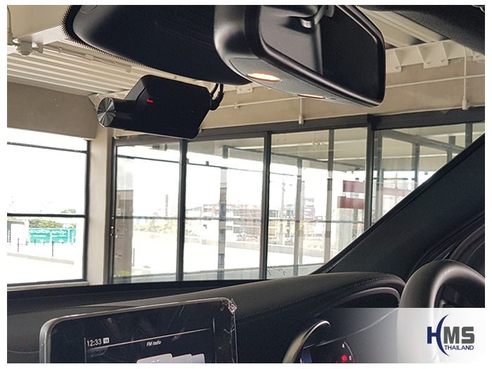 20180531 Mercedes Benz GLC250d_W253_DVR_Thinkware_F800_Pro_front