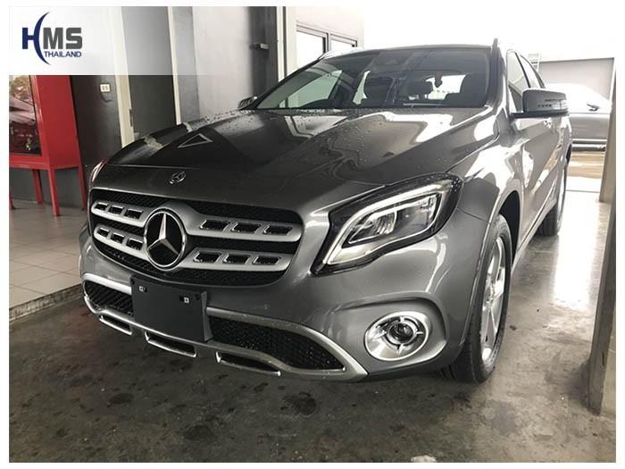 20180627 Mercedes Benz GLA200_W156_front,ติดกล้องหน้ารถ Mercedes Benz GLA200