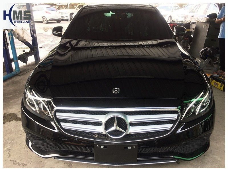 20181009 Mercedes Benz E350e W213_side,ติดตั้งกล้องติดรถยนต์ บน Mercedes Benz E350e