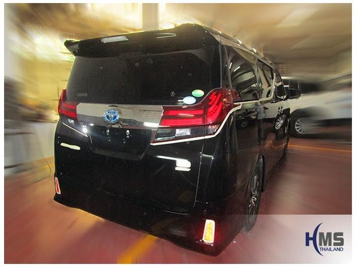 20160328 Toyota Alphard_back