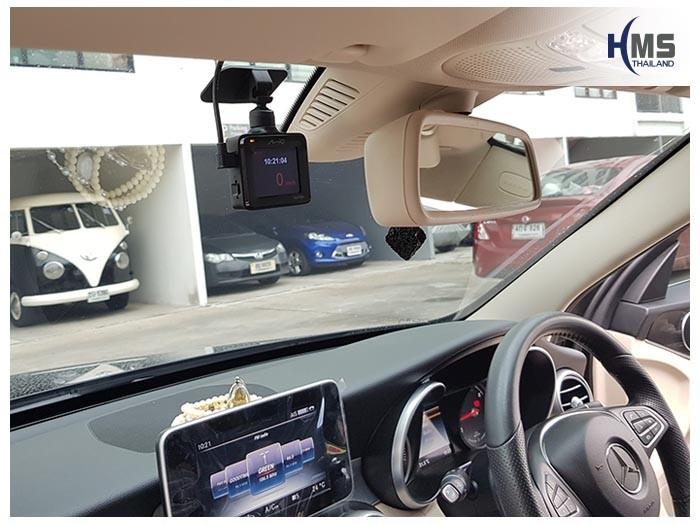 20180821 Mercedes Benz C350e_W205_DVR_Mio_MiVue_C335_1,กล้องติดรถยนต์ Mio MiVue C335 ติดหน้ารถ Mercedes Benz C350e W205