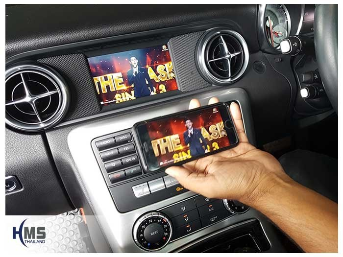 20171116 Mercedes Benz SLK200 R172_Wifi box_Movie