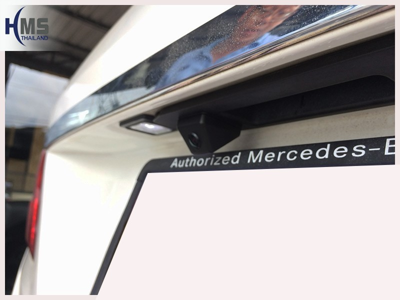 20180719 Mercedes Benz ML250_W166_Rear camera,Rear camera,จอถอยหลัง,กล้องมองหลัง,กล้องถอยหลัง,หมุนตามพวงมาลัย,PAS,Park assistant system