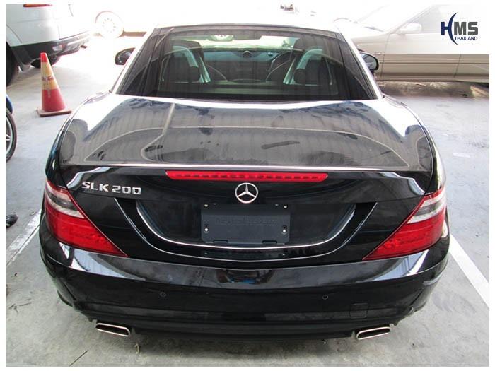 20150214 Mercedes Benz SLK200_R172_back