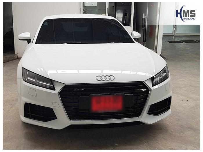 20180530 Audi_TT_front,Audi Thailand,Rear camera,จอถอยหลัง,กล้องมองหลัง,กล้องถอยหลัง,หมุนตามพวงมาลัย,PAS,Park assistant system