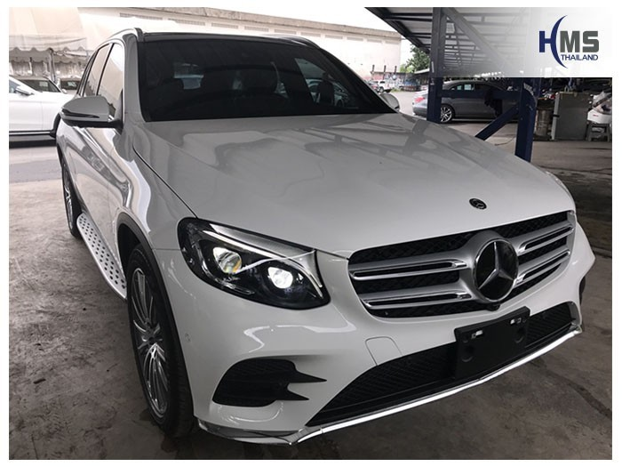 20180807 Mercedes Benz GLC250d_W253_front,ติดกล้องติดรถยนต์ Thinkware F800 Pro บน Mercedes Benz GLC250d W253 โดย HMS Thailand