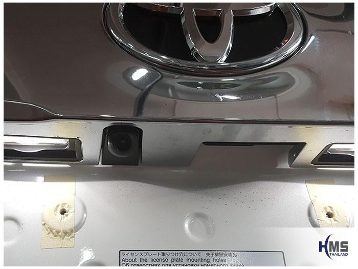 20170816 Toyota Alphard_Rear camera