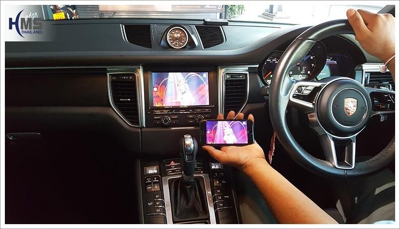 20180420 Porsche Macan PCM3.1 Screen Mirror