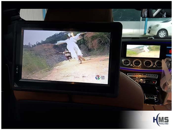 20170928_Mercedes Benz_E350e_W213_TV Digital_ASUKA_HR600_Rear Monitor