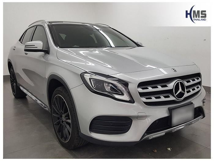 20180601 Mercedes Benz GLA250_W156_front,ผลงานติดตั้ง Mercedes Benz GLA250