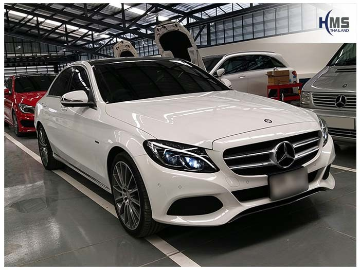 20170823 Mercedes Benz C350e W205_front