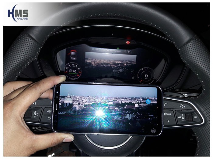 20180524 Audi TT_Wifi box,Screen mirror,mirror link,car wifi display,
