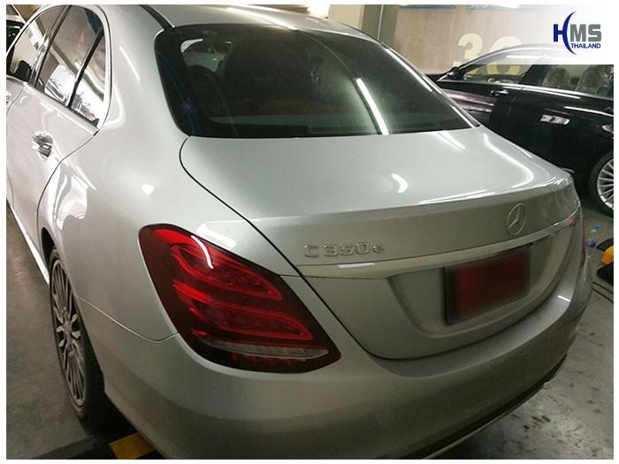 20170907 Mercedes Benz c350e_W205_back