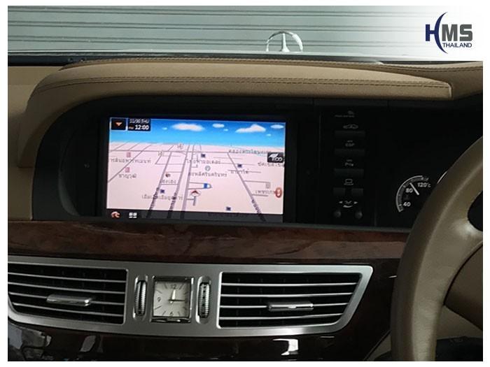 20171130 Mercedes Benz S350 W221_Navigation box_T3000_SpeedNavi