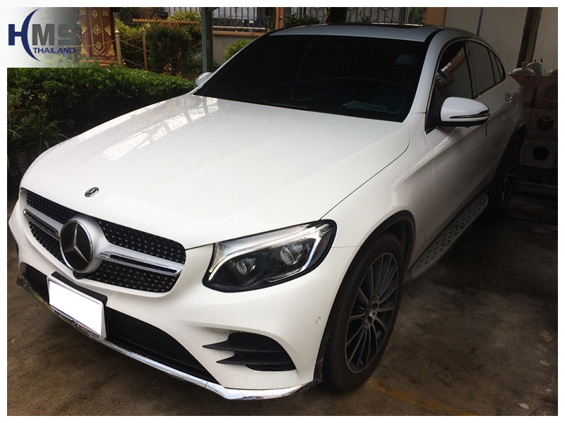 20181002 Mercedes Benz GLC250 Coupe_front,ติดดิจิตอลทีวี บน Mercedes Benz GLC250 Coupe W253