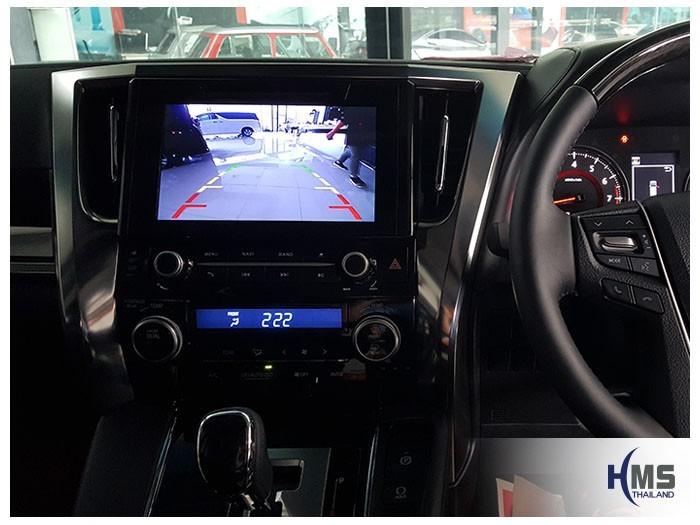 20180531 Toyota Alphard_DVD_Player_KD_9300_Rear camera_View