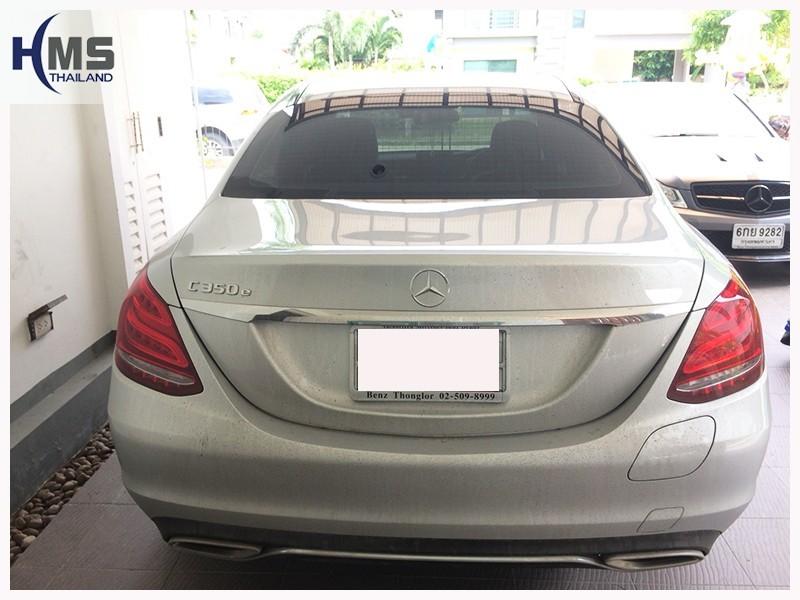 20180714 Mercedes Benz C350e W205 สีขาว
