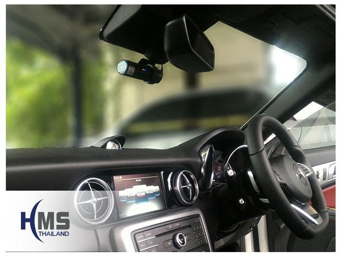 20170629 Mercedes Benz SLC300_R172_กล้องหน้ารถ_BlackVue_DR650GW-1CH