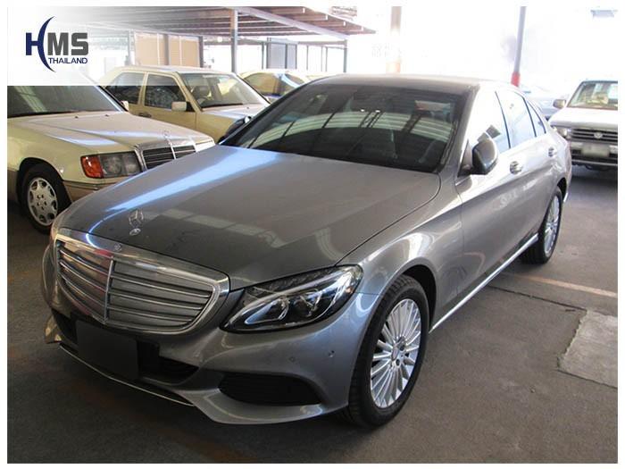 20150205 Mercedes Benz C180 W205_front