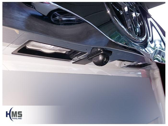20180525 Toyota Alphard_Rear camera,กล้องถอยหลัง,กล้องมองหลัง