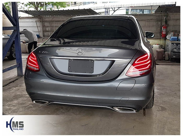 20180523 Mercedes Benz C350e W205_back