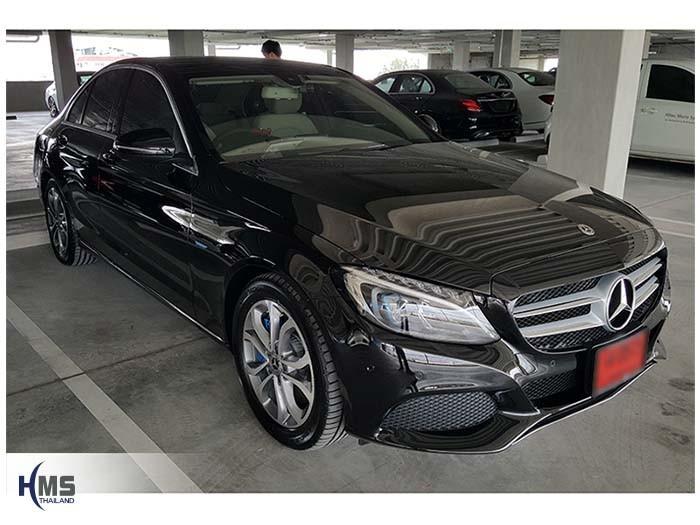 20170929_Mercedes Benz C350e_W205_front
