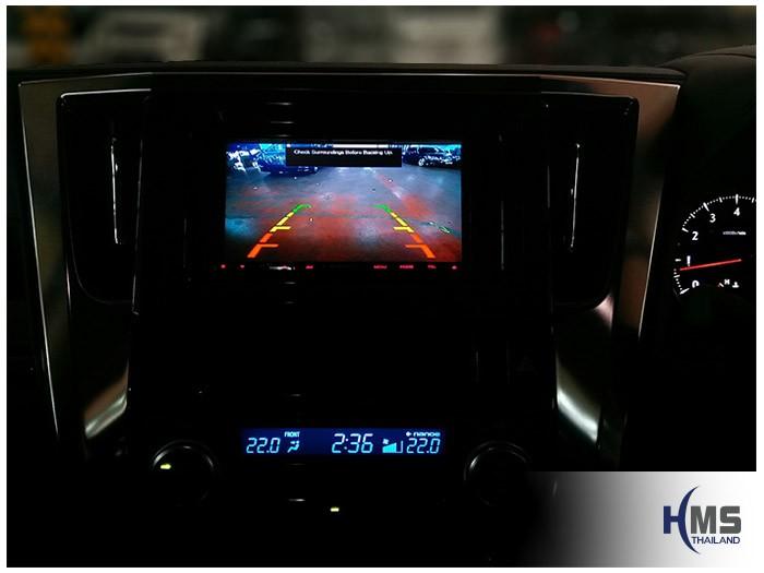 20170831 Toyota Alphard_DVD_Player_Kenwood_DDX6016BT_Rear camera_View