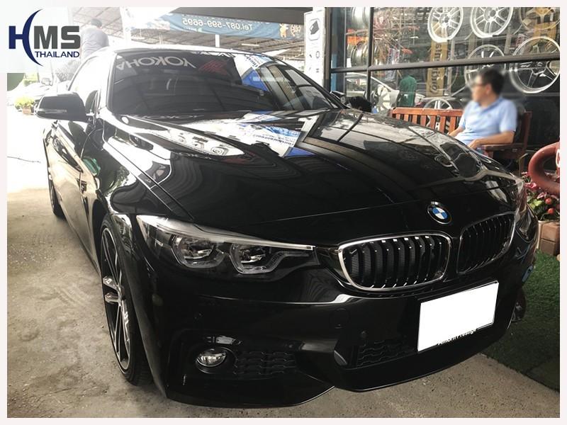 20180725 BMW 430i,BMW F33,ติด Screen mirror บน BMW 430i F33