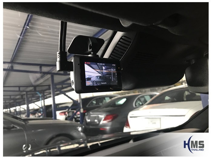 20180829 Mercedes Benz S350_W222_DVR_Mio_MiVue_786_Wifi,กล้องติดรถยนต์ Mio MiVue 786 Wifi ติดตั้งหน้ารถ Mercedes Benz S350d W222