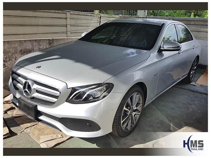 20180604 Mercedes Benz E350e_W213_front,ตัวอย่างติดตั้งรถ Mercedes Benz E350e