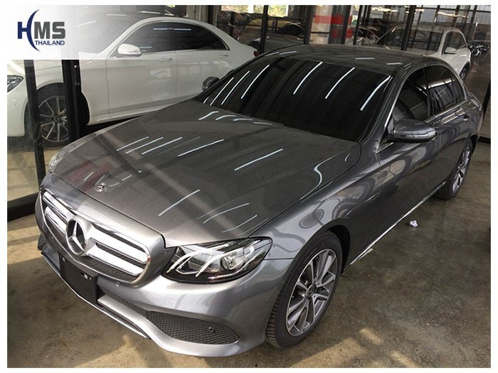 20180903 Mercedes Benz E350e_W213_front,รถ Mercedes Benz E350e W213 ติดกล้องติดรถยนต์โดย HMS Thailand