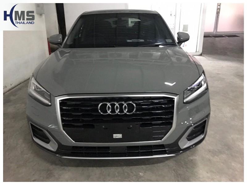 20181004 Audi_Q2_front,ติดกล้องถอยหลังบนรถ AUDI Q2