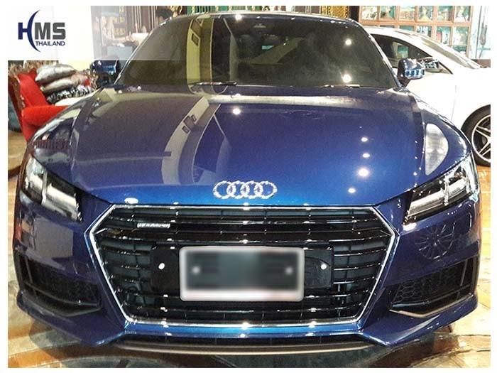 20180524 Audi TT_front,กล้องมองหลัง,กล้องถอยหลัง,หมุนตามพวงมาลัย,PAS,Park assistant system,Screen mirror, mirror link, car wifi display, car wifi