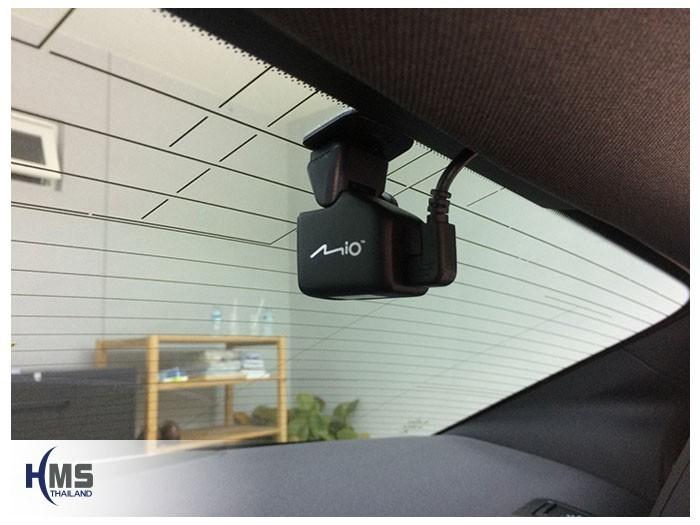 20180908 Mercedes Benz CLA250_C117_DVR_Mio_MiVue_A30,กล้องติดรถยนต์ Mio MiVue A30 กล้องเสริมติดตั้งคู่กับ MiVue 786 Wifi ตัวกล้องติดตั้งไว้ที่กระจกท้ายรถ Mercedes Benz CLA250 C117