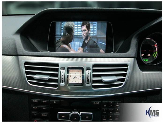 20150217 Mercedes Benz E200 W212_Navigation box_TC5000_Movie