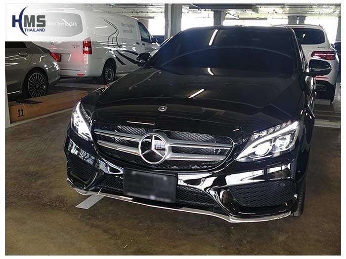 20180621 Mercedes Benz C350e_W205_front,ติดกล้องติดรถยนต์ บน Mercedes Benz C350e