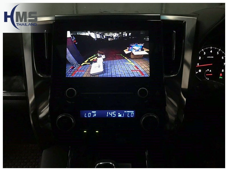 20181211 Toyota Alphard_KD9300_Rear camera_View,Rear camera,จอถอยหลัง,กล้องมองหลัง,กล้องถอยหลัง,หมุนตามพวงมาลัย,PAS,Park assistant system,